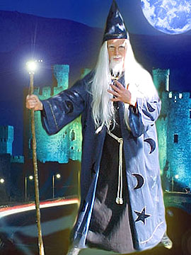wizard magic show birthday party and school events new jersey